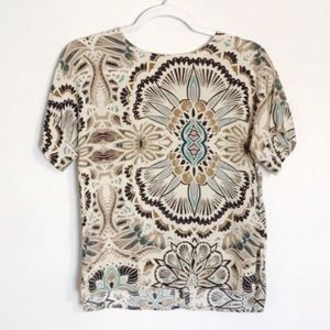 H&M | psychedelic tee size 2